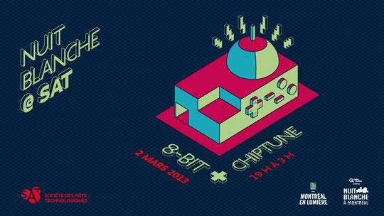 8bit Chiptune - Nuit blanche 2013 SAT