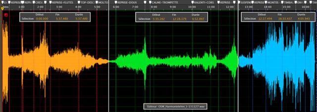graph audio Harmonielehere